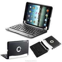 Bluefinger Removable case cover Bluetooth keyboard for iPad Mini with detacable cover,calmshell keyboard,