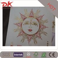 low price water transfer pvc skin tattoo/embossed 3d tattoo