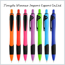 Best Selling in US and Europe cheap plastic blue pen made in China
