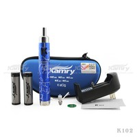 latest creative design k102 electronic cigarette from kamry, hot sale and new trend in 2014