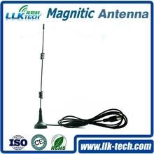 [RoHS]external 3g/gsm huawei modem antenna magnetic mount spring antenna