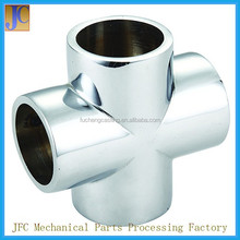 Custom Made Stainless Steel Pipe Fittings Cross Joint