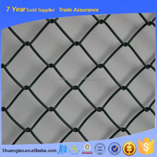 Heavily galvanized square wire mesh chain link temporary dog fence