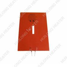 Con CE UL certificación de caucho de silicona del tanque calentador de la botella de