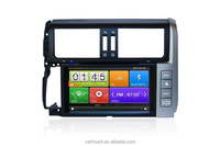 for 2011 Toyota Prado touch screen car dvd player with gps navigation
