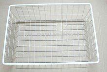 Mesh golf ball wire basket