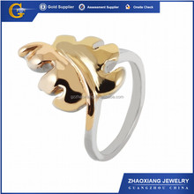 FR0051 Zhaoxiang Stainless Steel Polish Finished Skull Ring