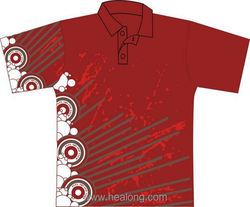 Healong Factory Top Selling Table Tennis Polo Shirts
