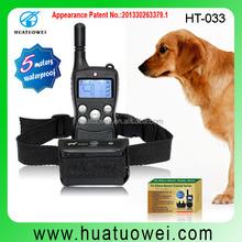 Wholesale Newest 2015 Dog Agility Product Anti Bark Dog Training Collar No Bark Collar electric dog collar