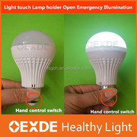 new style 5W E27 Emergency saving light easy to carry rechargeable led bulb