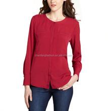CHEFON Long sleeve ladies modern blouses models fashion