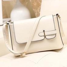 B286 The new 2015 fashion handbag lady PU leather shoulder Messenger Bag