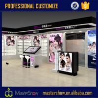 cosmetic shop display stand design/makeup display