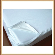 waterproof clear vinyl mattress cover with zipper