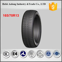 china top brand car tires with best rubber, 165/70R13 wholesale car tires