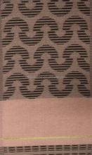 Peach color Newest design head tie african headtie aso oke grand hayes african head tie