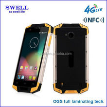 new design 4G 5.0inch IPS 1280*720 touch IP68 android phone quad core MSM8916 android4.4 NFC XJD X9