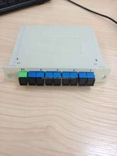 Fiber optical PLC splitter box
