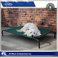 Briefness style scratch-proof fashional design dog elevated bed GRN