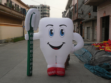 customzied advertisement of new product inflatable advertising