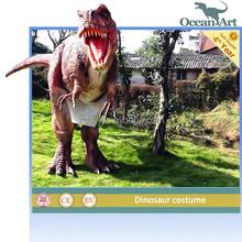 Hidden Legs Animatronic Realistic Dinosaur Costume