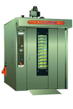100% manufacturer supplier hot selling gas rotary oven for bakery
