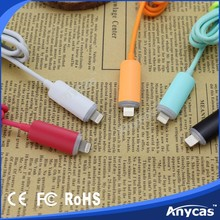 compact design data link cable with blue led