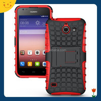 2015China wholesale! hybrid rugged hard case cover for Huawei Ascend Y550 case 2 in1 armor cell phone case
