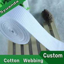 High Quality Strong Woven Cotton Webbing Tape Bag Strap