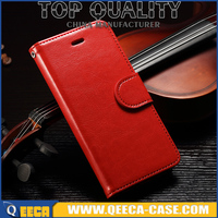 Stand/magnetic/card holder flip cover wallet leather case for iphone 6s 4.7 5.5