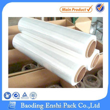 100% raw material for pallet lldpe stretch film jumbo roll