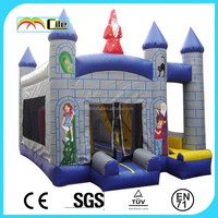 CILE 2015 Hot Sale Inflatable Childs Jumping Castle House with Slip Slide