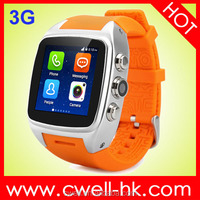 512MB ram cheap bluetooth Smart X01 Android MTK6572 Dual Core WIFI GPS Heart Rate Monitor and Predometer BT watch phone