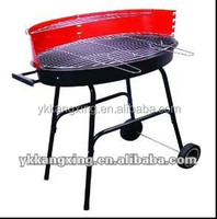 Chicken wings machine charcoal grill barbecue chicken rotary grill