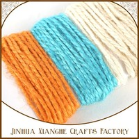 hand knitting yarn cords , woolen yarn rope , woolen yarn string for DIY crafts and scrapbook