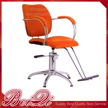 Salon Equipment Chinese Manufacturer Orange Color Wholesales Cheap Price Barber Chair