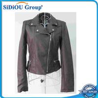 lady women pu jacket