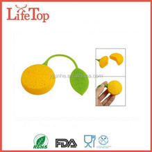 Cute Lemon Shaped Silicone Tea Leaf Herbal Infuser