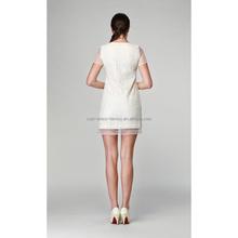 Fashionable discount drop ship women silk dress