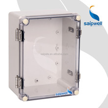 IP67 2015 best saller high quality ABS/pc plastic waterproof distribution junction control transparent cover electric box hasp