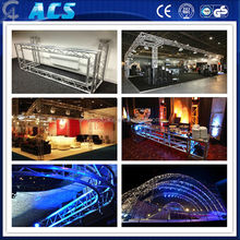 Strong aluminum roof truss system /elegant speaker truss /outdoor tower truss