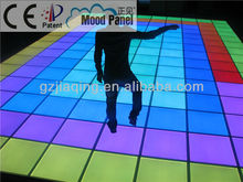 2015 unique light floor banquet hall or wedding party LED dance floor