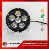 Hot Sell Product High Standard Factory Direct Price Long Life-Span 60W Universal Motorcycle Led Driving Lights
