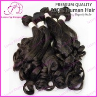 7a Real Tangle Free Unprocessed Spiral Curl Brazilian Virgin Human Hair Weaves Extensions