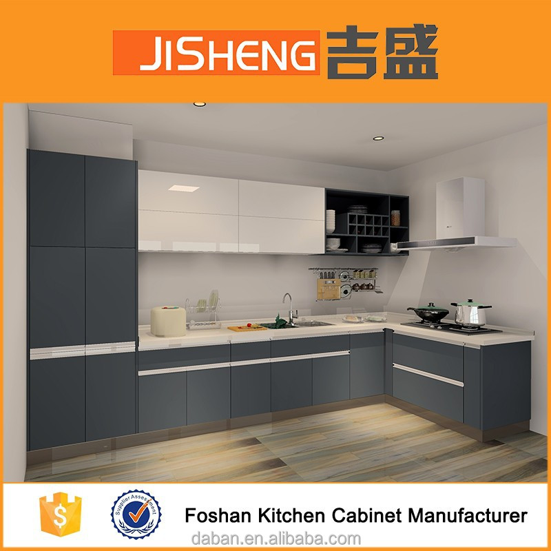 Kitchen Design Uv: New Design Uv High Gloss Waterproof Cabinet Kitchen