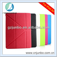 For iPad Air Leather Case 8 Folding Design