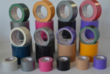 Transparent strong adhesion cloth duct tape
