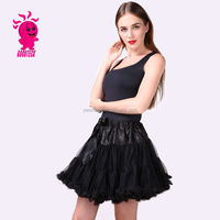 Wholesale Extra Fluffy Teenage Girl Adult Pettiskirt long tulle Tutu Skirts Women Party Dance maxi Skirt rockabilly petticoat
