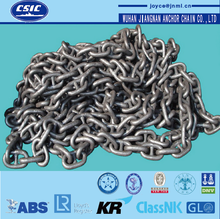 Stud link anchor chain U2 U3 marine anchor chain with CCS(IRS)/BV/LR/GR/ABS certificates