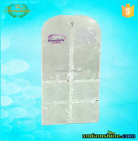 wholesale pvc clear garment bags with pockets